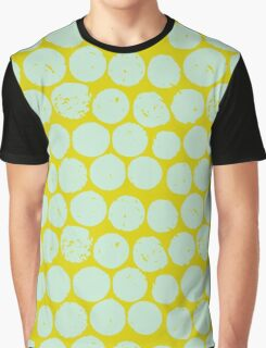 cork polka chartreuse mint Graphic T-Shirt