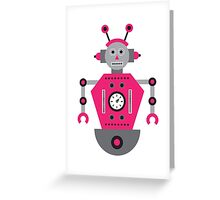 a humanoid 4 Greeting Card