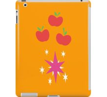 My little Pony - Applejack + Twilight Sparkle Cutie Mark V2 iPad Case/Skin