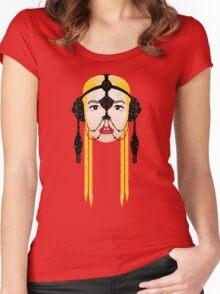 GTA / Red Lips feat. Sam Bruno (Skrillex Remix) Women's Fitted Scoop T-Shirt