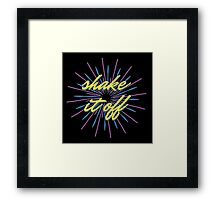 Taylor Swift Shake It Off Framed Print