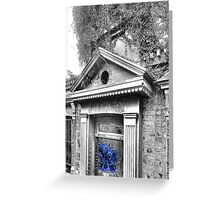 Desecration Blues Greeting Card