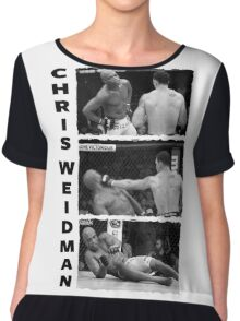 Chris Weidman Chiffon Top