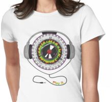 Music of Life Womens Fitted T-Shirt