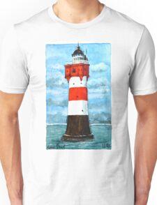 Nordsee Leuchtturm Roter Sand Unisex T-Shirt