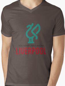 LIVERPOOL JERSEY Mens V-Neck T-Shirt