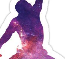 Galaxy Jumpman Sticker
