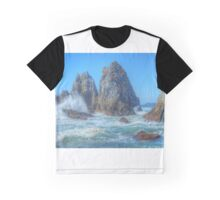Camel Rock Waves Graphic T-Shirt