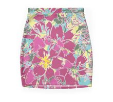 Fuchsia Fusion Brightens Your Day Everyday Mini Skirt
