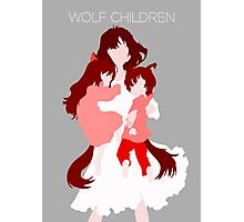 Wolf Children (Wall art and shirts) Photographic Print