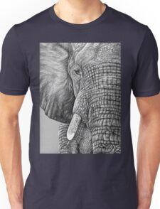 African Elephant - Afrikanischer Elefant Unisex T-Shirt