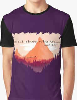 Lord of The Rings Transparent Graphic T-Shirt