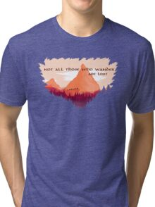Lord of The Rings Transparent Tri-blend T-Shirt