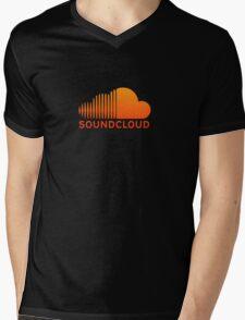 SoundCloud Mens V-Neck T-Shirt