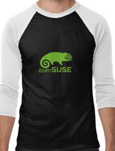 OpenSuse Men's Baseball ¾ T-Shirt