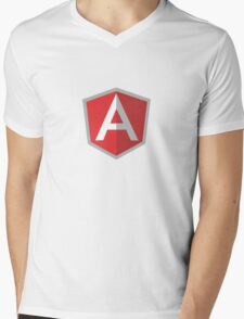 angularJs Mens V-Neck T-Shirt
