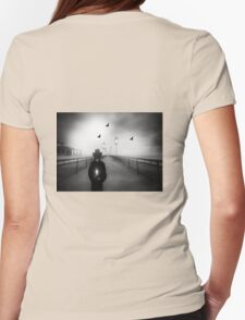 The Night Watchman  Womens Fitted T-Shirt