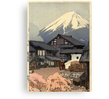 Yoshida Hiroshi - Ten Views of Mt.Fuji Canvas Print