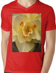 Yellow Orange Daffodil  If you like, please purchase, try a cell phone cover thanks Mens V-Neck T-Shirt