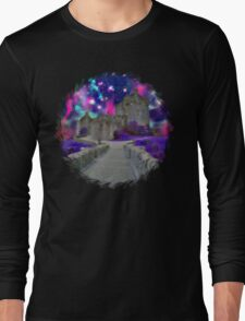 Space Castle Long Sleeve T-Shirt