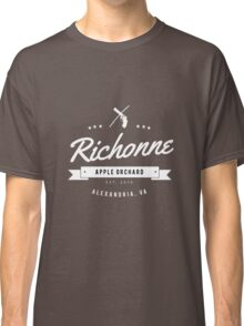 Richonne - Rick & Michonne (Dark) Classic T-Shirt
