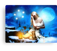 It's a magical Night Canvas Print