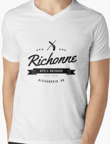 Richonne - Rick & Michonne Mens V-Neck T-Shirt