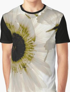 transparence flower in  grey Graphic T-Shirt