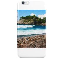 Lake Superior Shore iPhone Case/Skin