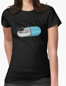 Time Travel Capsule Womens Fitted T-Shirt