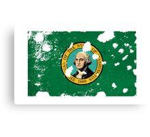 Washington Splatter Canvas Print