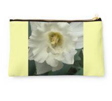 White Daffodil  Studio Pouch