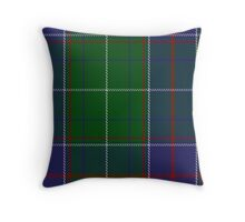 00160 Tennessee District Tartan  Throw Pillow