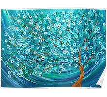 Winter Morning Tree Poster