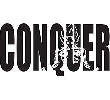 CONQUER (Goku Iconic) Photographic Print