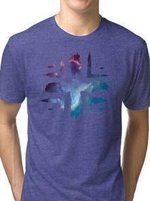 Plus Symbol - Universe Edition Tri-blend T-Shirt
