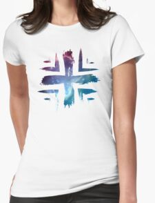 Plus Symbol - Universe Edition Womens Fitted T-Shirt