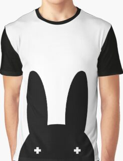 Peek A Boo Bunny Graphic T-Shirt