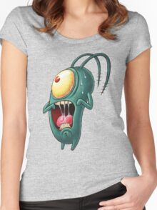 plankton Women's Fitted Scoop T-Shirt