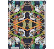 White-throated sparrows iPad Case/Skin