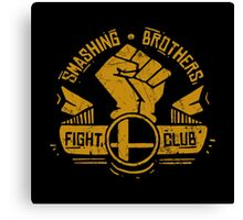 Smashing Brothers Fight Club Canvas Print