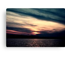 End of an age Canvas Print