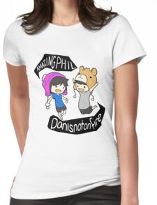 Phil and Dan Amazing Womens Fitted T-Shirt