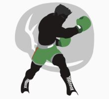 Punch Out - Little Mac - Silhouette Kids Tee