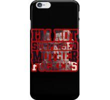 Nate Diaz - I'm not surprised motherfucker  iPhone Case/Skin