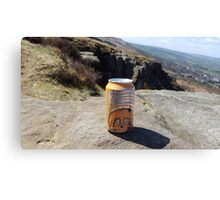 Sunday Drinks on Ilkley Moor Canvas Print