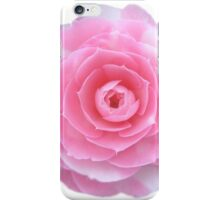 pink camellia flower iPhone Case/Skin