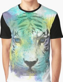 Abstract Tiger Graphic T-Shirt