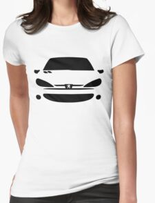 Peugeot 206 Womens Fitted T-Shirt