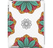 Bright lotus with polka dot iPad Case/Skin